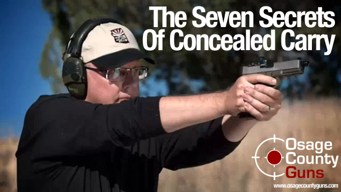 Concealed Carry Secrets
