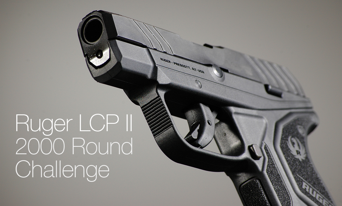Ruger LCP2 2000 Round Challenge: Rounds 1501 – 1650.