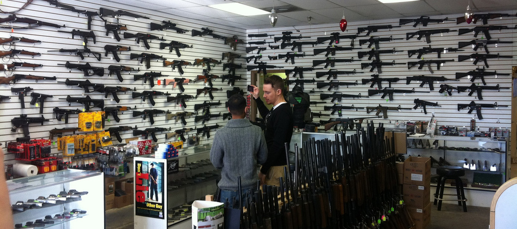 The Applebees Of Gun Stores.