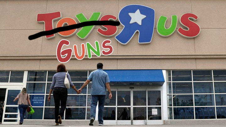 Guns 'R' Us.