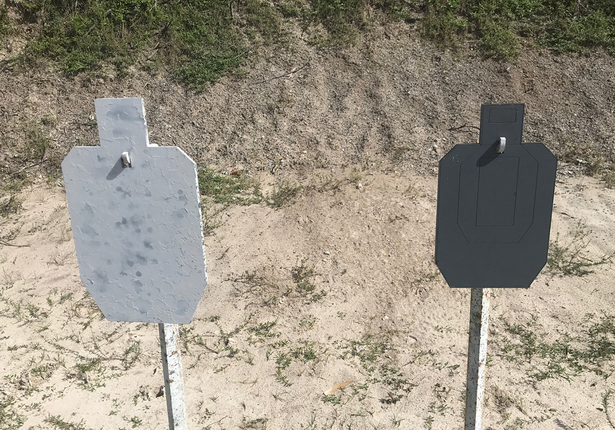 Product Review: MK Machining Etched AR500 Steel IPSC Target